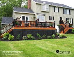 This Custom Built by This Custom Timbertech Evolution Pacific Teak Decking With Ipe