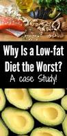 is a low fat diet the worst a case study