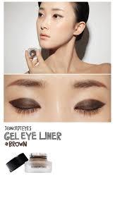 light brown gel eyeliner 3ce gel eyeliner brown shopneasy malaysia