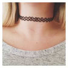 tattoo chokers necklace images Tattoo choker set of two house of cocohouse of coco jpg