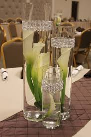 ideas for centerpieces for wedding reception tables lowery dawson wedding an affair to remember bling centerpieces