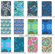 Amy Butler Home Decor Fabric by Cameo Amy Butler Fabric Bundle Enchanted Palette Fat Quarter