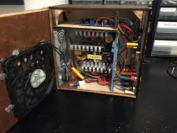 Variable Bench Power Supply With Lcd And Monitor Display Diy Atx Bench Power Supply Everything Else Glowforge Owners Forum