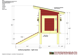 free chicken coop blueprints with inside layout of chicken coop
