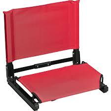 Stadium Chairs With Backs Amazon Com Black Stadium Chair Sports Stadium Seats And