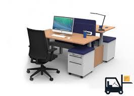 sit stand desks by cubicles com