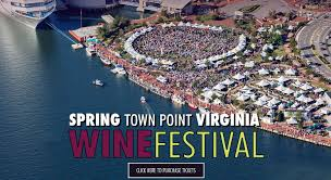 Virginia Wine Trail Map by Festevents Spring Town Point Virginia Wine Festival