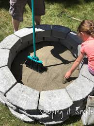 Backyard Firepit Ideas How To Build A Diy Pit For Only 60 Keeping It Simple Crafts