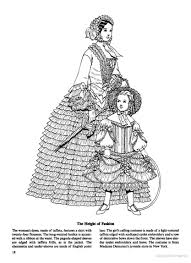 fashions of the old south coloring book the height of fashion