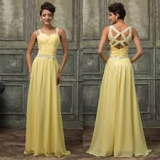 beads chiffon evening formal party cocktail long dress