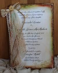the paper shop shabby chic u0026 vintage invitations distressed edges
