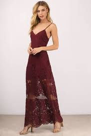 lace dress wine maxi dress scalloped dress dress sweetheart maxi