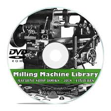 milling machine operation dvd shop practice jigs fixtures
