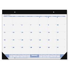 desk pad calendar 2017 at a glance sw200 00 at a glance 12 months desk pad calendar