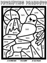 halloween coloring pages with math halloween coloring math