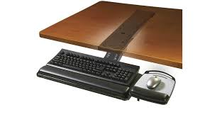 shop 3m sit to stand easy adjust keyboard tray akt180le