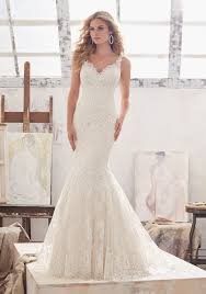 fit and flare wedding dress marcelline wedding dress style 8115 morilee