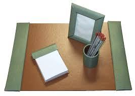 Desk Accessories Sets Leather Desk Blotter Sets Desk Blotter Set Leather Desk Pad