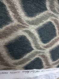 modern upholstery per yard grey color ikat fabric for home decor