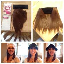 cancer society wigs with hair look for diy hair headband to wear with hats after chemo purchase hair