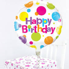 happy birthday balloon happy birthday balloon in a box
