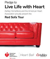 The Red Sofa Red Sofa Tour Ashley Homestore Is The Proud Sponsor Of The