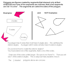 What Is The Interior Angle Of A Regular Decagon Math In A Box Geometry Review Lessons By Susan O Johnsey