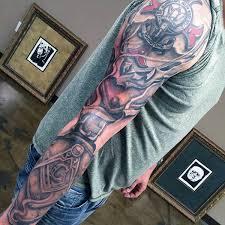 simple sleeve masonic tattoo golfian com