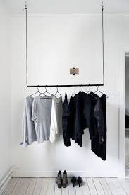 Creative Way To Hang Scarves by Best 25 Hanging Clothes Ideas On Pinterest Diy Clothes Storage