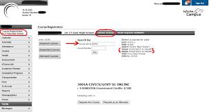 high school government class online blended class schedule appleton eschool wi
