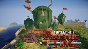 minecraft adventure time treehouse youtube