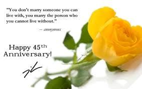 45th wedding anniversary glenna stories 45th wedding anniversary