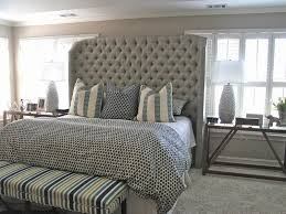 Nailhead Upholstered Headboard Tall Upholstered Headboard Tall Nailhead Upholstered Headboard