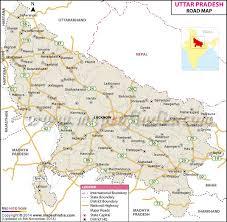 map in road uttar pradesh road map