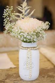 jar centerpiece centerpieces don t to be expensive diy your reception