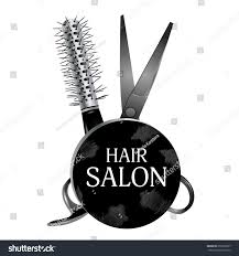 audi logo vector logo design hair salon scissors hairbrush stock vector 659535907