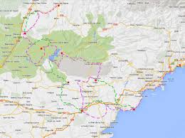 Nice France Map by France Provence Verdon Cycling Tour From Digne To Nice