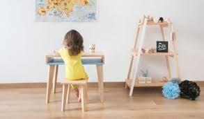 accessoire bureau enfant table enfant bureau enfant design et écologiques prairymood