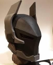 ark ham knight foam helmet template