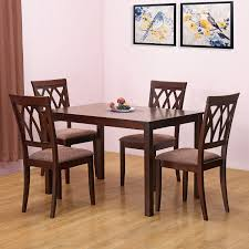 nilkamal kitchen furniture home by nilkamal peak four seater dining table set beige best