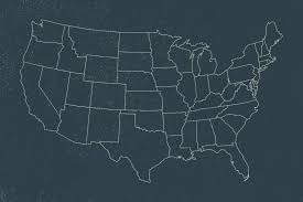 Blank Us Map States by Fileblank Us Map States Onlysvg Wikimedia Commons Us Maps Usa