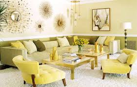 gray 70s livingroom with nice yellow accents decor pictures home
