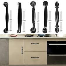 kitchen cabinet door handles walmart cabinet pulls matte black kitchen drawer door pulls cabinet handles knob hardware 3 8 center