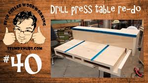 best drill press table sweet homemade drill press table with t style fence and dust