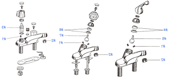 Peerless Kitchen Faucet Repair Parts by Peerless Kitchen Faucet Parts Diagram Kenangorgun Com