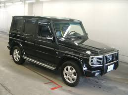 2002 mercedes g500 for sale used mercedes g500 for sale at pokal japanese used car