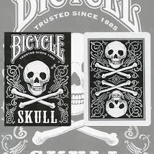 bicycle skull cards 7 50 gamblers warehouse