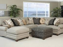 Beige Sectional Sofas Photos Abbyson Living Beige Sectional Sofa And Ottoman