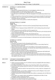 Internal Resume Internal It Auditor Resume Samples Velvet Jobs