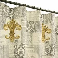 Fleur De Lis Curtains Fleur De Lis Shower Curtain Shower Ideas